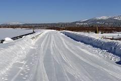 Jackson Lake Reservoir Dam (bhophotos) Tags: travel winter snow landscape geotagged nikon dam reservoir wyoming tetons grandtetonnationalpark jacksonlake d80