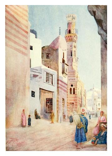 015-Mezquitas en el Sharia Bab-El-Wazir del Cairo-Cairo, Jerusalem, and Damascus..1907- Margoliouth D. S.