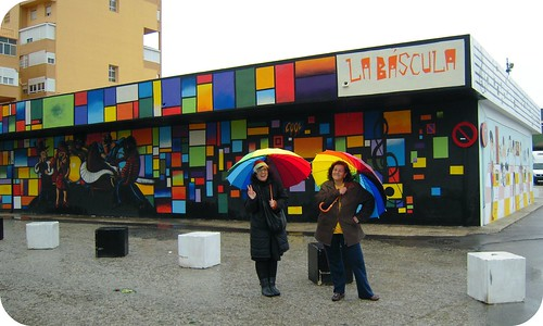 Navidad, lluvia y color