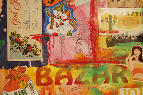 Egypt + Christmas - collage detail (Copyright Hanna Andersson)