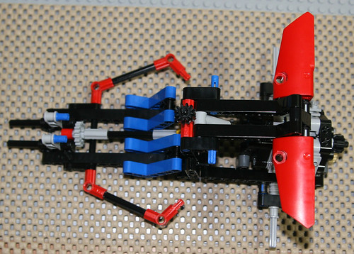 2010 LEGO Technic 8048 Buggy - Assembly