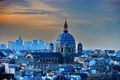 Paris vu depuis la terrasse du Printemps 24 (paspog) Tags: paris roofs toits decken fiatlux toitsdeparis abigfave flickrdiamond