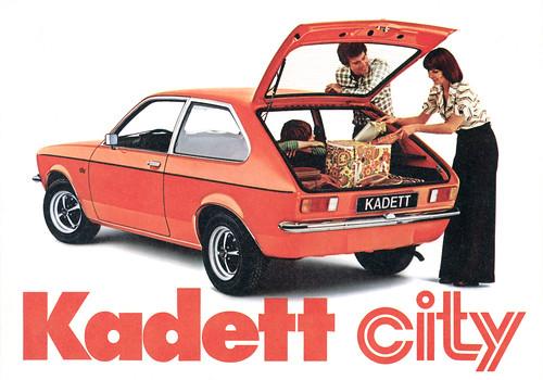 opel kadett city. Opel Kadett C City