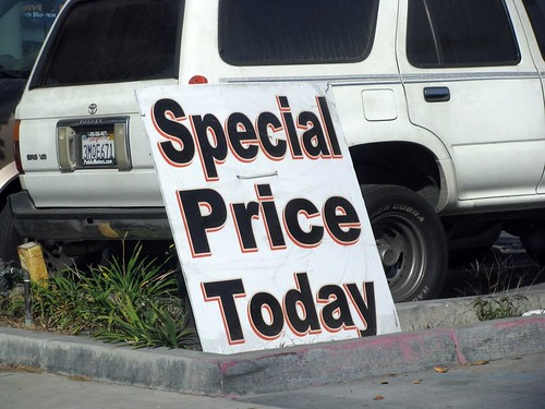 special price today