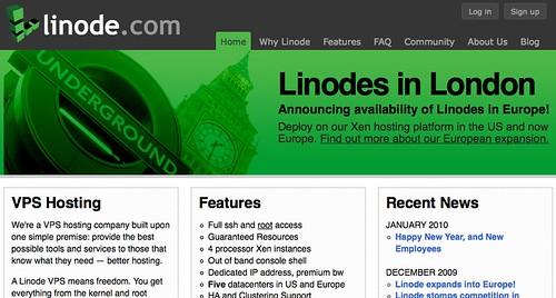 Linode - Xen VPS Hosting