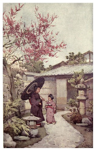 010-La flor del ciruelo Kobai-The flowers and gardens of Japan (1908)-  Ella Du Cane