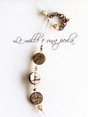Proposte per un bracciale autunnale 1 (lemilleeunaperla) Tags: bijoux legno bracciale bottoni