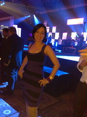 "me at the Monster Cable party - in Dress ""C"" (LJRich) Tags: las vegas monster technology ces gadgets ces2010"