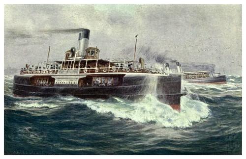008-Los Ferrys se dirigen a las playas-Australia (1910)-Percy F. Spence