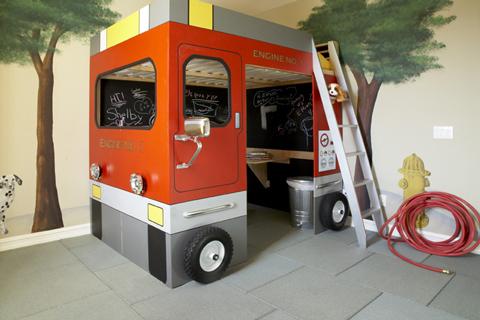 Habitación de bomberos