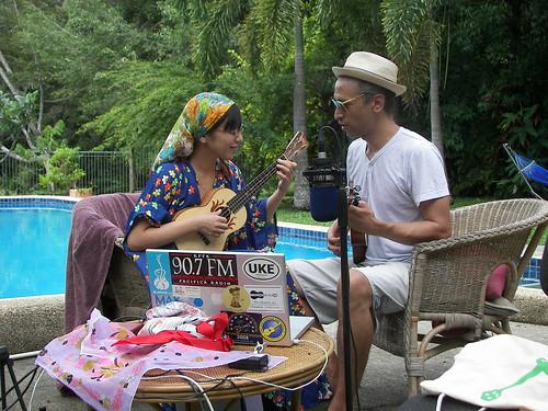 Playing at Bar Hikoroku, Tokyo... by the pool in Kuranda!