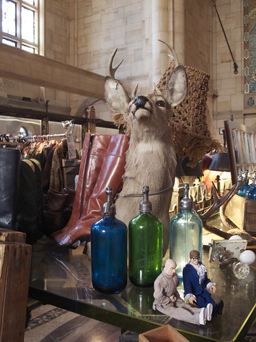 So much taxidermy! It's to Brooklyn what mustaches were to SF's Renegade Craft Fair.