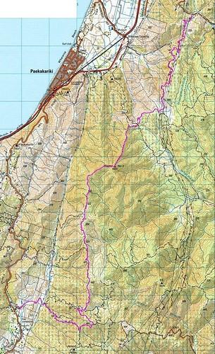 Mt Wainui Map