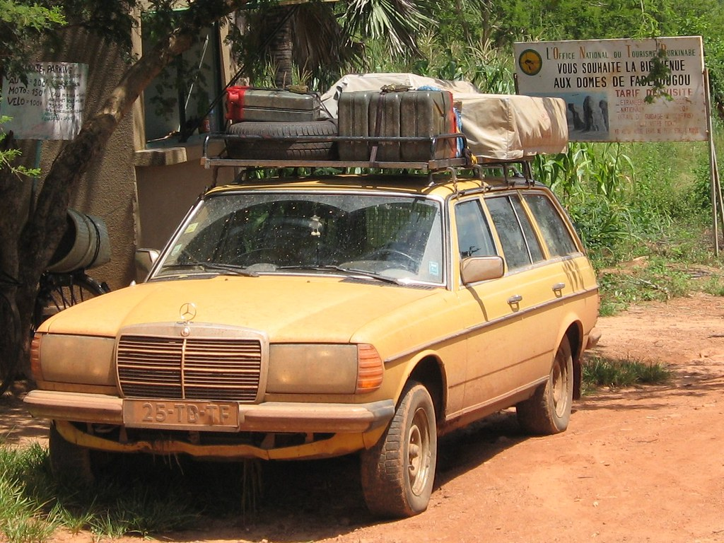 Mercedes W123 Expedition 300TD - Expedition Portal