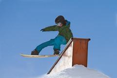 SnoZone : Snow Park | Parc  neige (Ski Mont Blanc) Tags: montblanc snowpark snozone parcneige