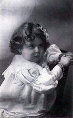 Vintage Postcard ~ (chicks57) Tags: flowers friends bunny atc angel aceo bow teddybear littlegirls luckygirl