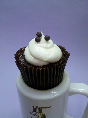 Brown Sugar Cupcake with Cream Cheese Frosting