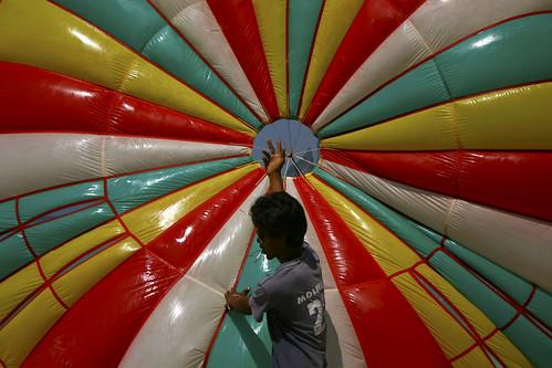 Parachute doré à Koh PhiPhi
