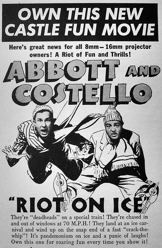 1940s vintage movie poster advertisement hollywood castle films abbot and costello