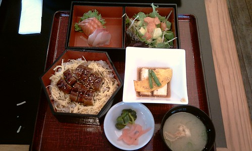 Unagi set lunch@Yuuga GC
