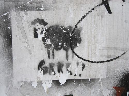 Lambs say.... grrr!!  (?)