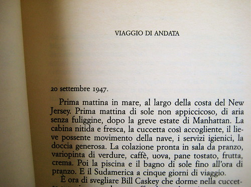 Christopher Isherwood, Il condor, De Agostini 1961, p. 5 (part.)
