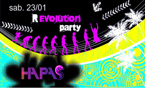 Revolution Party - Discoteca Hapas