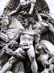 Resistance of 1814 - SW Pillar of Arc de Triomphe (From Afghanistan With Loveّ) Tags: sculpture paris france arc triomphe 2009 resistance 1814 zeerak safrang hamesha javaid