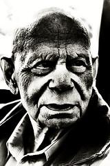 Untitle (Paterdimakis) Tags: portrait bw white black face nikon negre d300