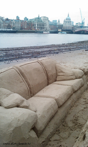 Marvelous Sand Sculpture Sofa