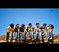 Fun On the Top of Skandagiri Hills (abhiomkar) Tags: friends fun memories group gang hills  hws skandagiri teamhws cishore kishorenisha