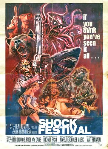 Stephen Romano's SHOCK FESTIVAL DVD