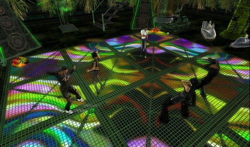 dance floor at l'immortel club