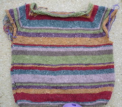 Stripy (RooKnits) Tags: knitting jumper 2010 stripy