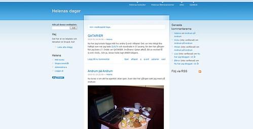 Drupal - förstasidan