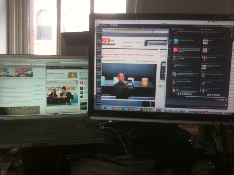 ipad viewing
