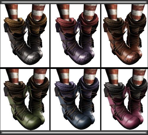 _Miel boots