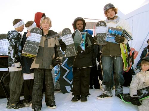 Snowskate - Freestyle Jam winners - ESPN Winter X Games 14