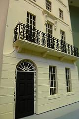 1/48th scale model Regency house