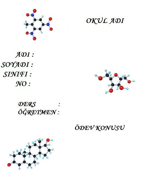 4321989548 9062400c32 o molekül resimli ödev kapağı