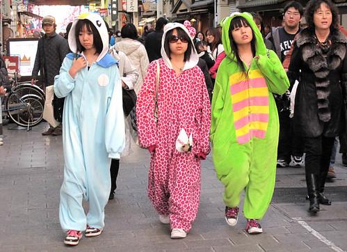 Street fashion, Japanese style