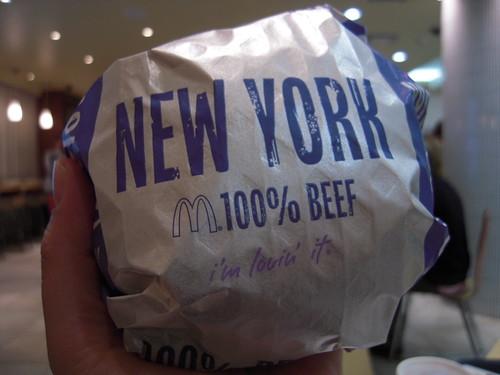 マクドナルド Big America ニューヨークバーガー