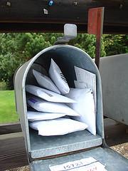 Mailing Junk back to Junk Mailers by Oran Viriyincy