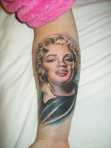 marilyn monroe tattoos. Marilyn Monroe Tattoo