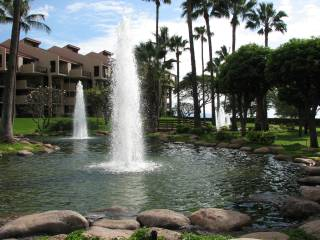 Kamaole Sands Fountains
