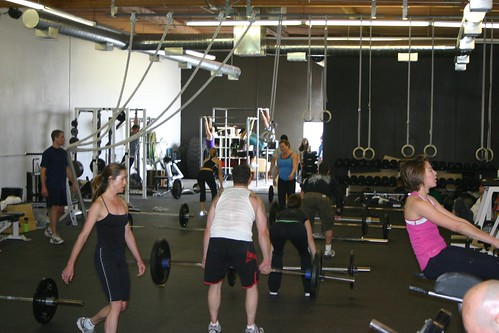 16 Member WOD plus one visitor