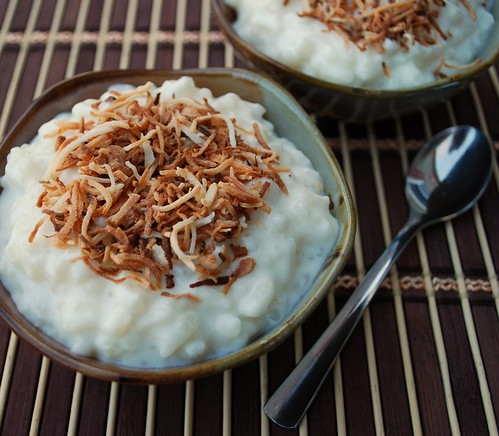 Coconut Rice Pudding CU