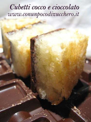 Cubetti cocco e cioccolato