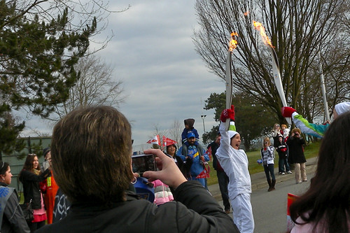 Vancouver 2010 Torch Relay in Delat & Surrey