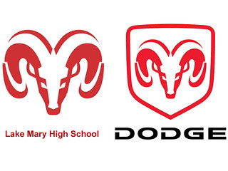 Funny Dodge Logos of changing its logo and
